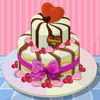 Here we go to a Valentine`s day party. Decorate as you wish and gift this yummy cake for a new couple. Wish all lovers in the world on this universal valentine`s day. Happy Valentine`s Day!