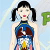 Peppy Patriotic Utah Girl A Free Dress-Up Game