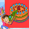Coloring Book: Birthday