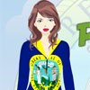 Peppy Patriotic Idaho Girl A Free Dress-Up Game