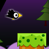 Help this little Crow to fly and pass between the columns. You don`t have to crash because then it will die. This is a very fun game. Try to beat the record and get as far as possible.