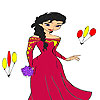 Princess anita coloring