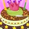 Crown Cake Decor