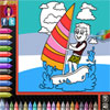 Coloring Book - Beach A Free Dress-Up Game