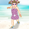 Baby on the Beach A Free Dress-Up Game