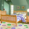 Remodel this cute model of a bed room. Drag and drop the various Furniture, accessories, and decorations into your room to remodel and make it look the best.