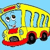 Kids Coloring Bus