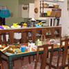 Messy Dinner Table