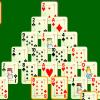 Remove all the cards from the pyramid by pairing them with complementary cards to sum 13. Kings are removed without pairs. The game  is complete if all the cards in the pyramid are removed.