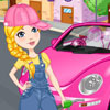 Play Clean my pink new beetle