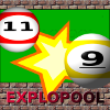Explopool, a fun and entertaining game with billiards balls and explosives. Challenging, but easy to play game, that requires both skill and some luck.