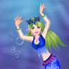 Floral Mermaid Queen A Free Dress-Up Game